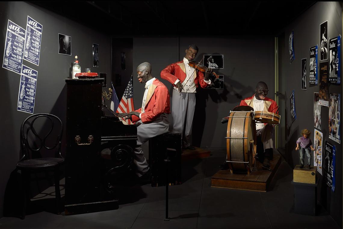Musée de l automate- jazz band