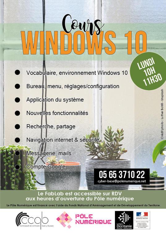 PN - Affiche Atelier Windows10 2020