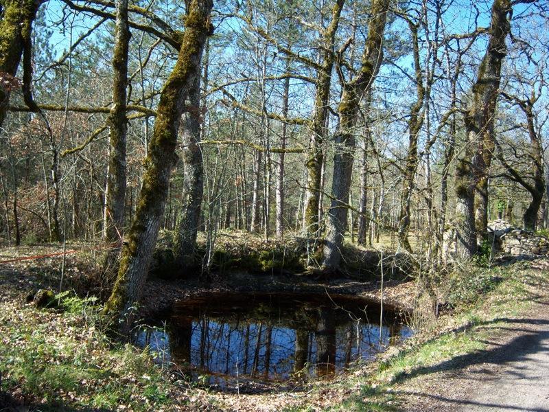 Saint Cirq Souillaguet : Réserve d'Eau