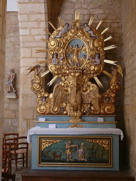 Payrignac_-_Église_Saint-Agapit_-_5