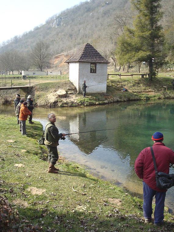 Pêche Gouffre du Blagour - Lot