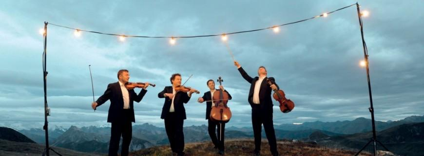 Quatuor Debussy et Vincent Peirani