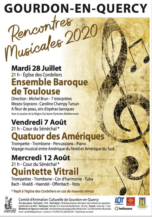 Rencontres Musicales 2020