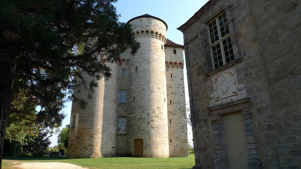 Vue Chateau Curemonte-Cantegreil