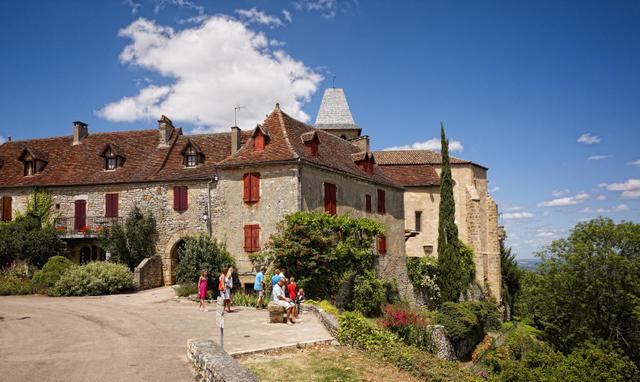 Vue de Loubressac © D.Viet