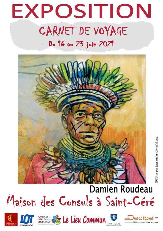 affiche CdV Damien  Roudeau 2021