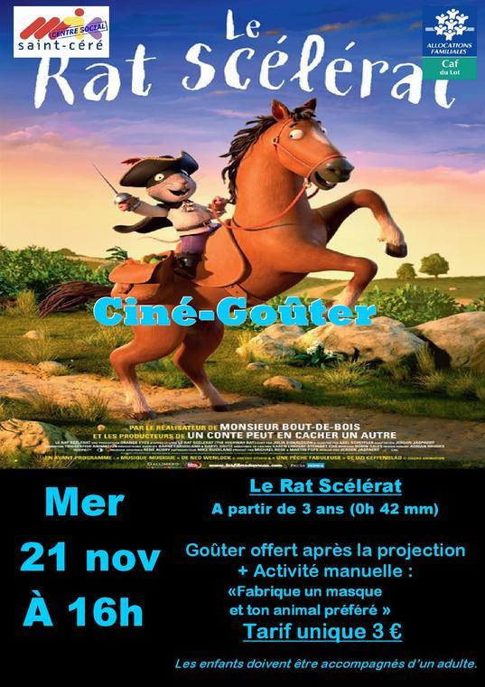 affiche Ciné-Goûter