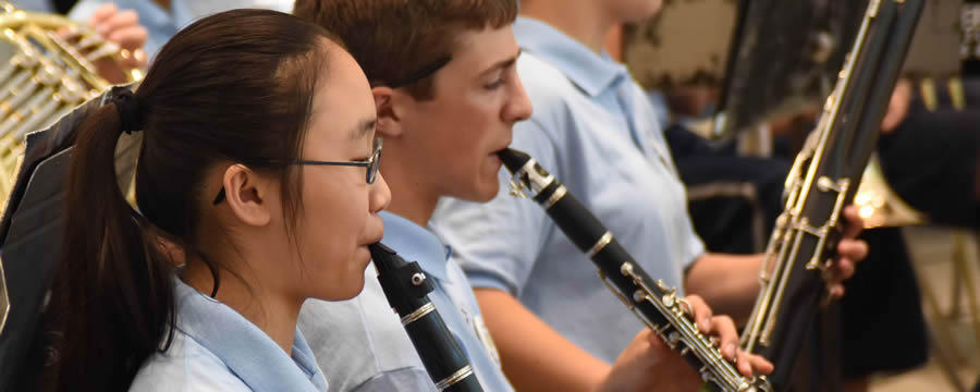 blue lake clarinet