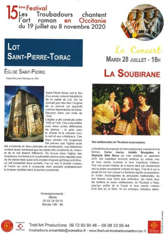 concertlasoubirane