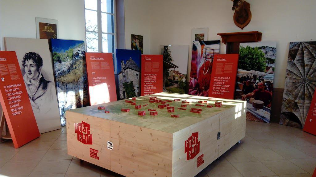 exposition patrimoine à Saint-Chels