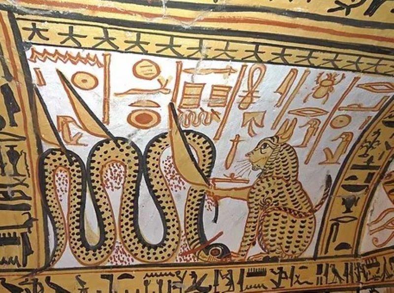 lire les images egyptiennes