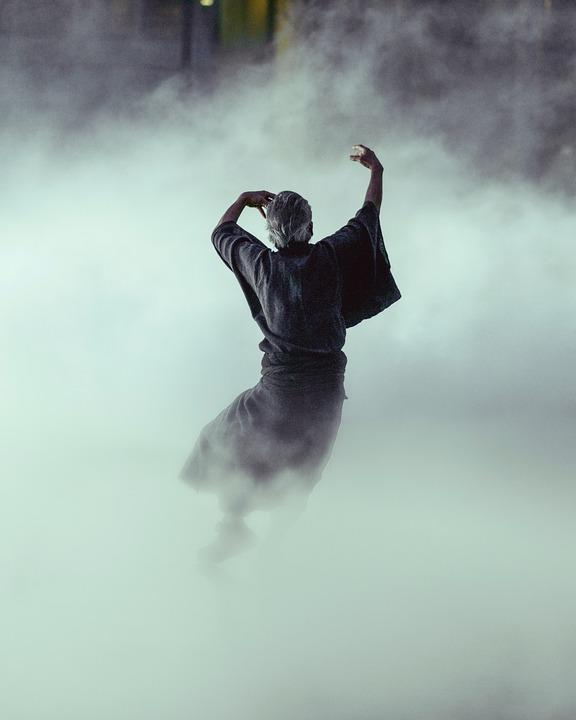 silouhette danse
