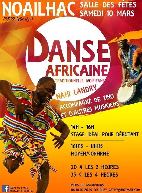 stage danse afro noailhac