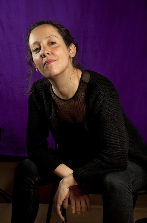 Estelle Savasta. Portrait by Bronwen Sharp at the Bush Theatre-2.jpg