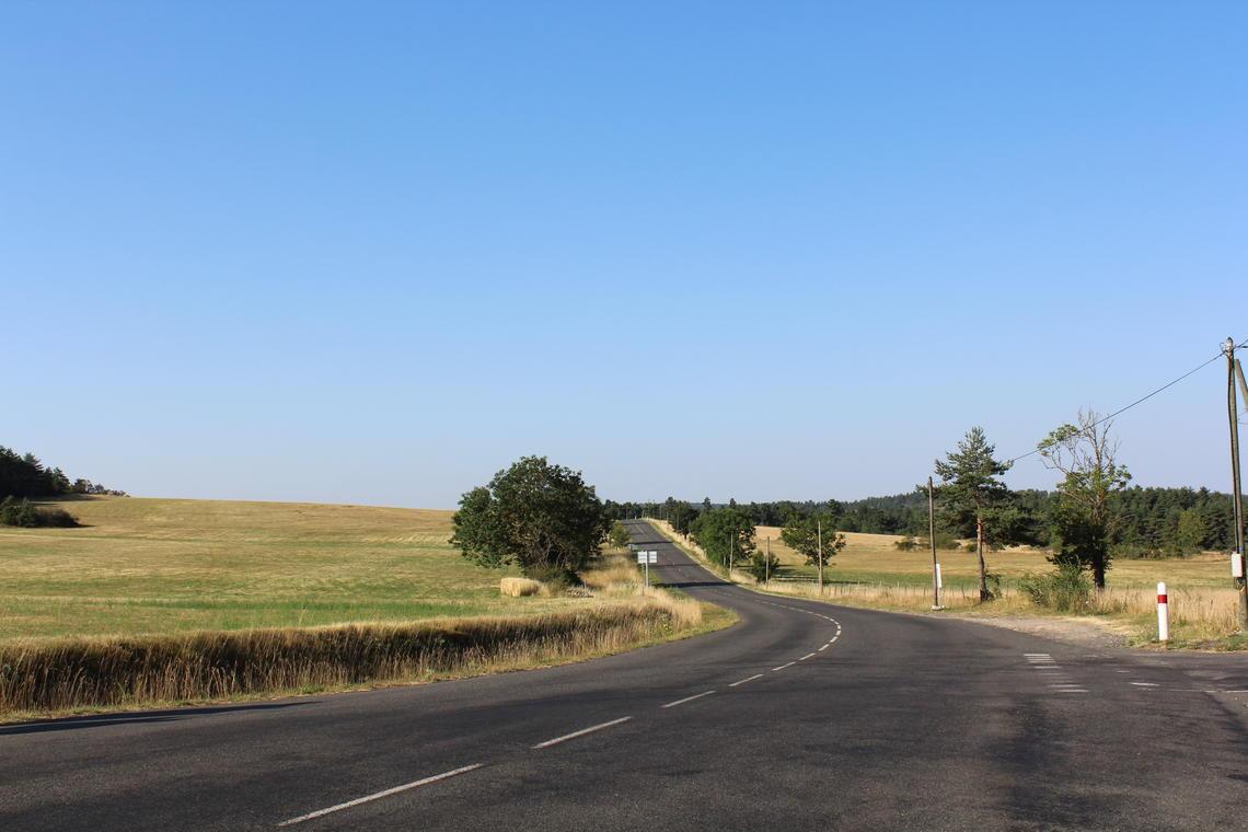 Route Causse de Sauveterre