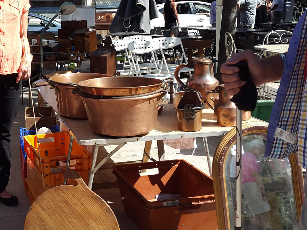puces, vides greniers, brocantes, braderies