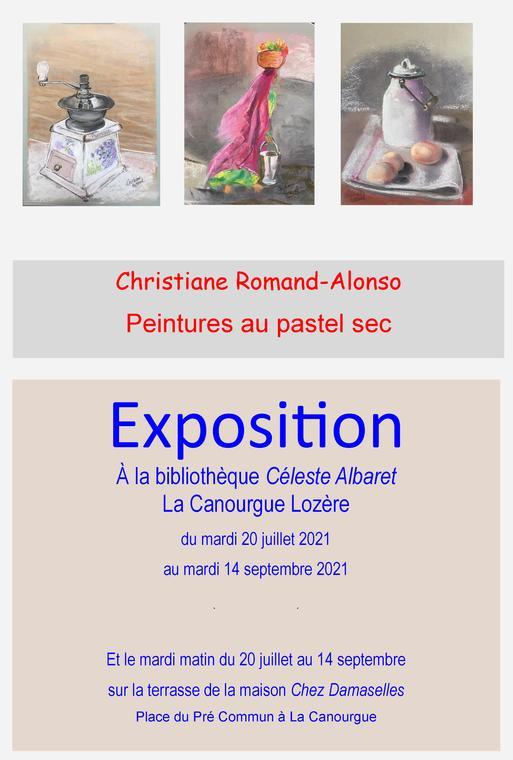 expo biblio La Canourgue été 21 affiche1