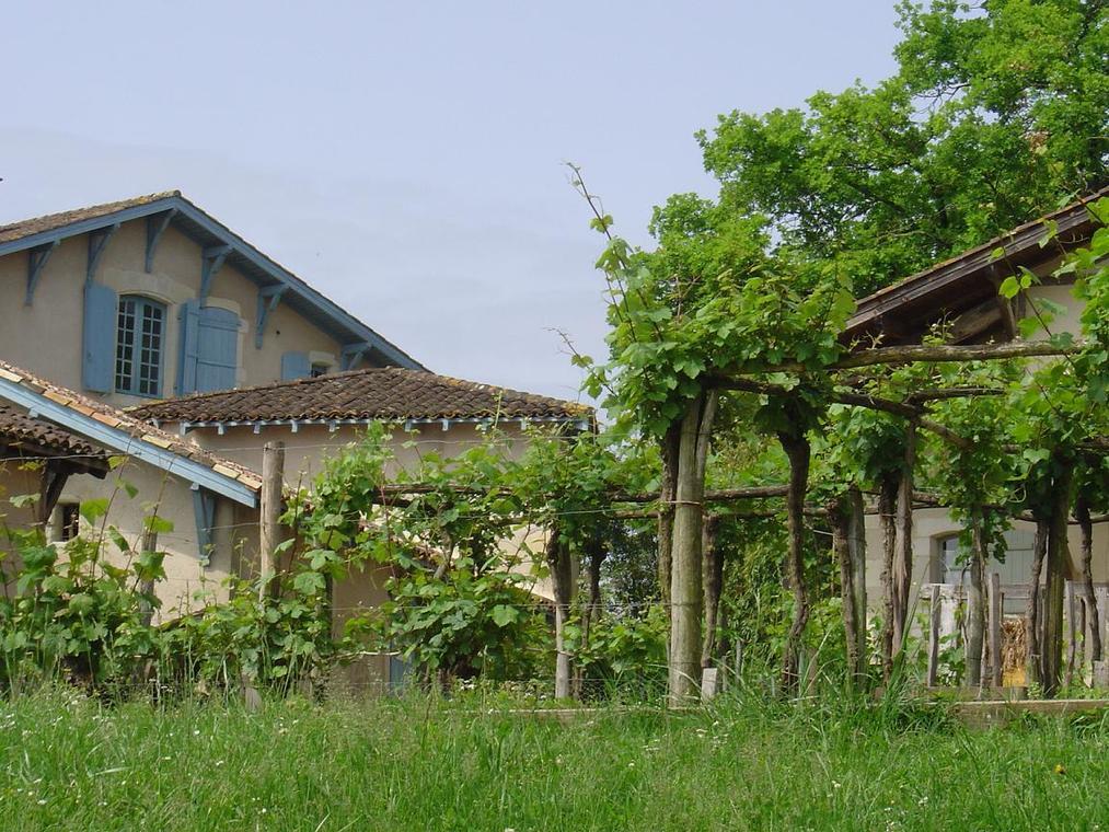 Maison du métayer et potager