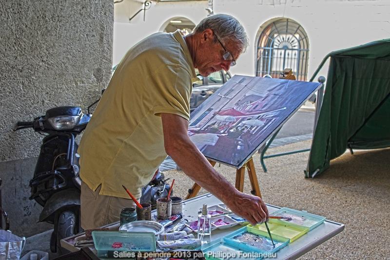 Concours de peinture Salies à Peindre