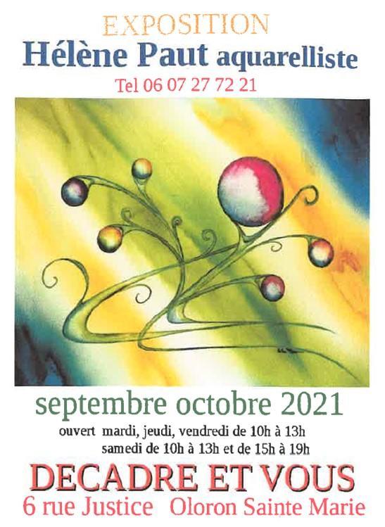 Exposition Hélène Paut