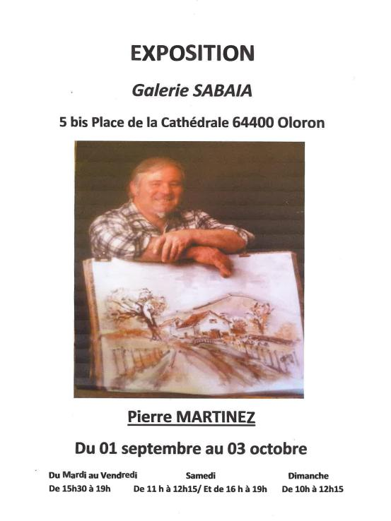 Exposition Pierre Martinez