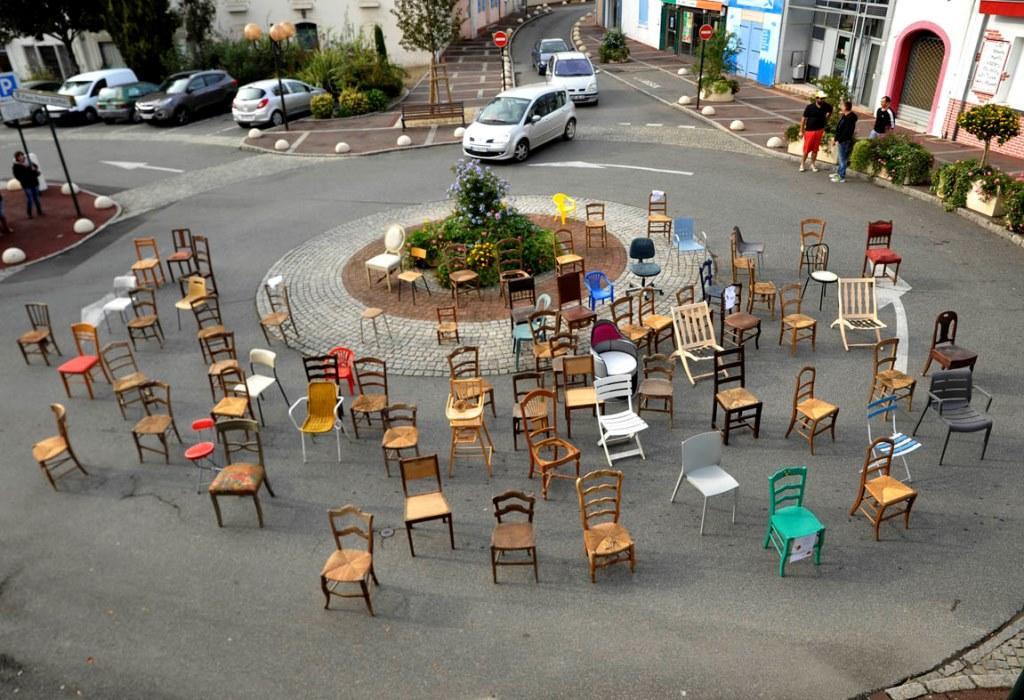 Fête de la chaise - Rond-point
