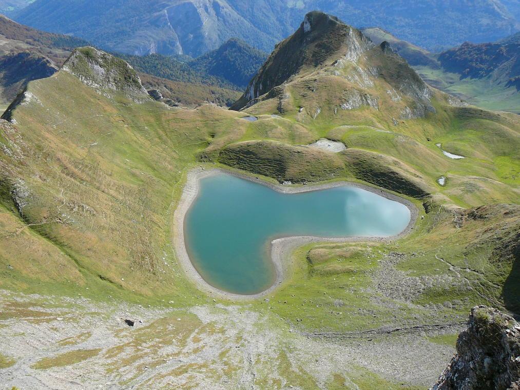 Lac coeur montagnon d'Iseye