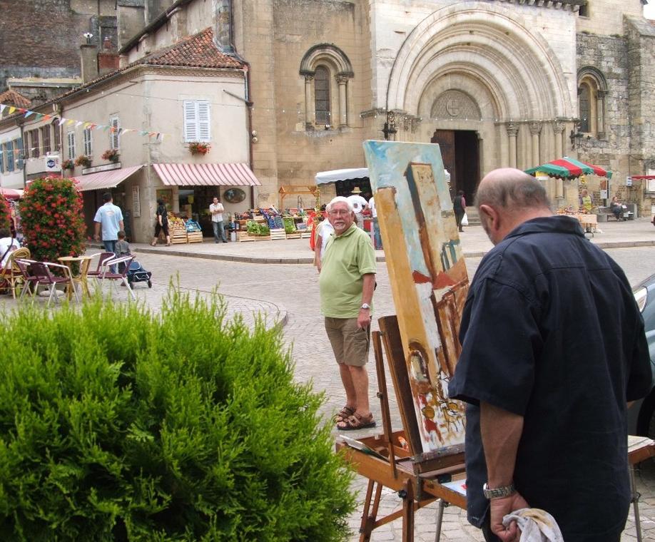 Peintres dans la cité