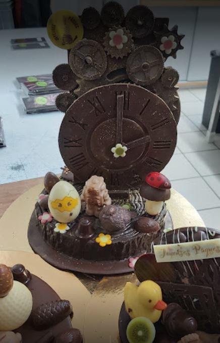 Sujet chocolat Delphine