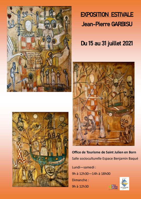ST JU - EXPO GARBISU Jean-Pierre