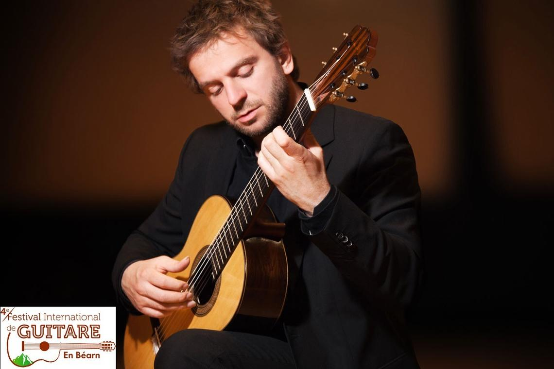 Marcin Dylla au Festival International de Guitare en Béarn