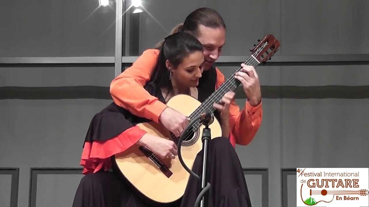 Duo Montesinos&Tamayo au Festival International de Guitare en Béarn