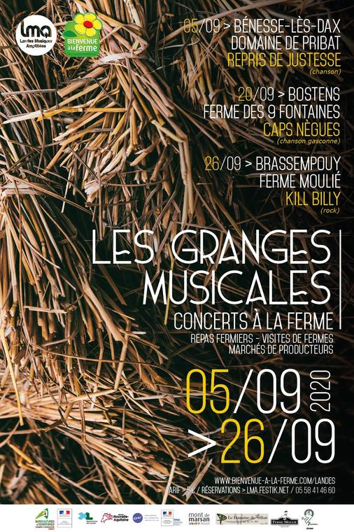 granges musicales sept 2020