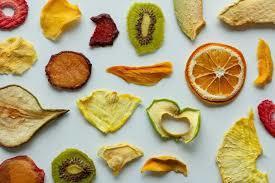 fruits et légumes déshydratés