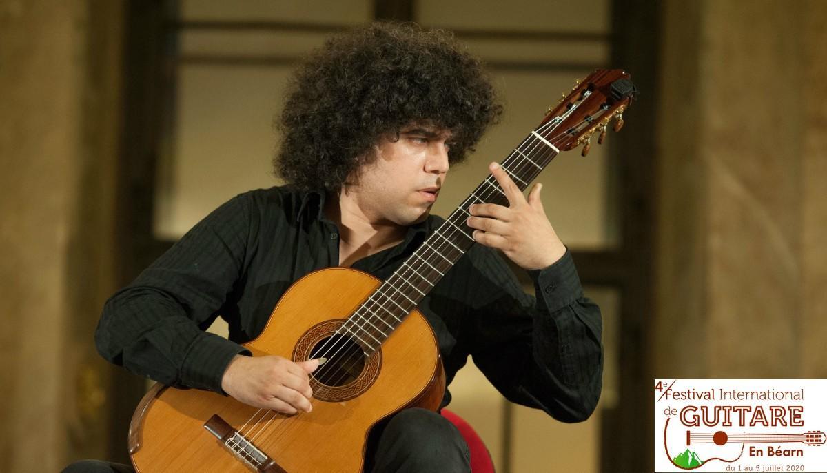 Judicaël Perroy au Festival International de Guitare en Béarn