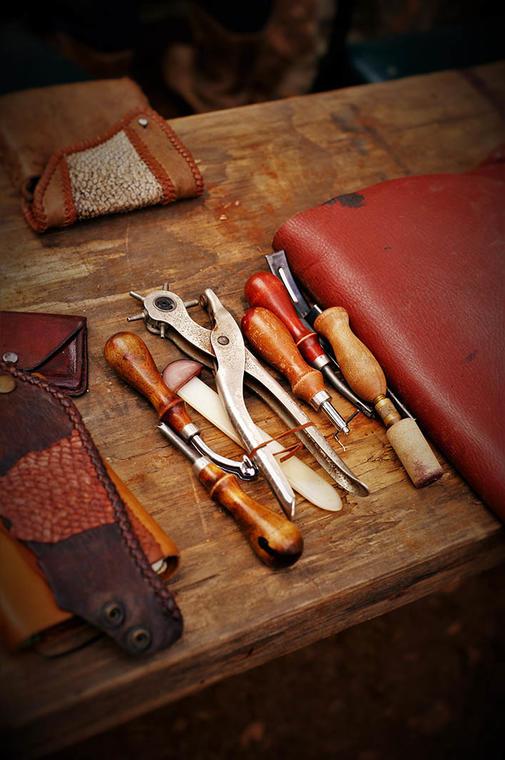 leathercraft_workshops_melbourne_leather_tools