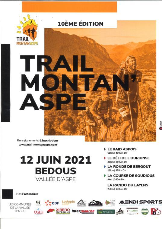Trail Montan'Aspe