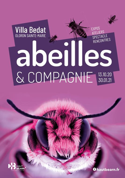 Affiche Abeilles & Compagnie