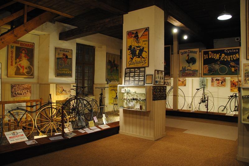 Musée du vélo - Trois Fontaines l'Abbaye