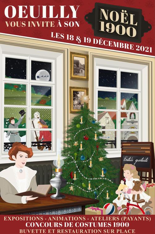Noël 1900 - Oeuilly