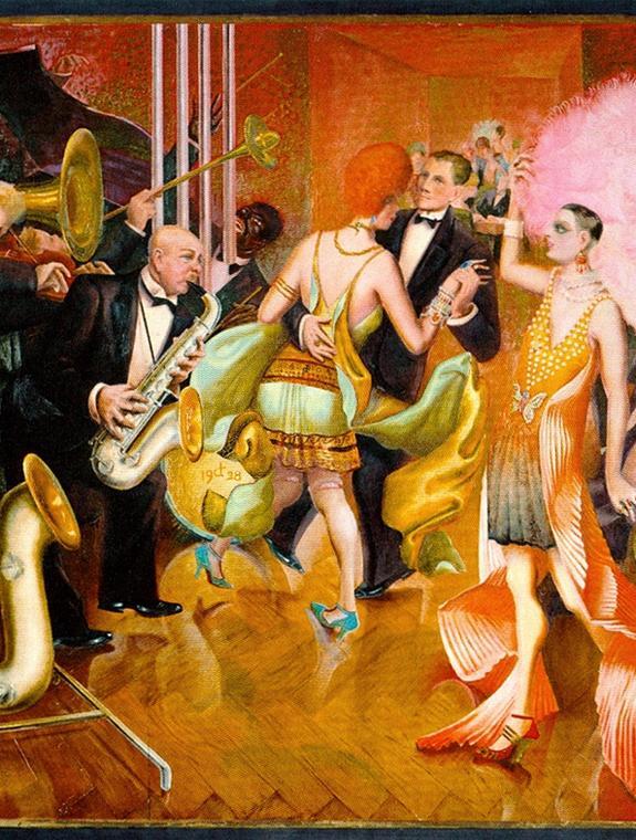 Otto Dix - Rognée - Concert Swing Verboten
