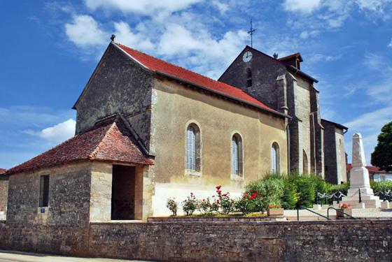 Attancourt Eglise Saint-Louvent