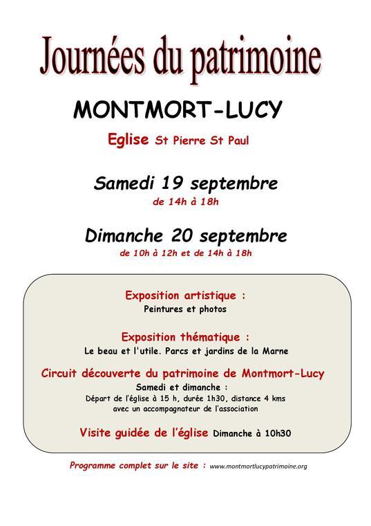 AFFICHE Journées patrimoine 2020 - Montmort-Lucy1