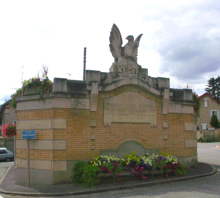 Courville, Lavoir-mémorial © OT Fismes