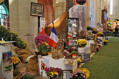 Exposition chrysanthèmes