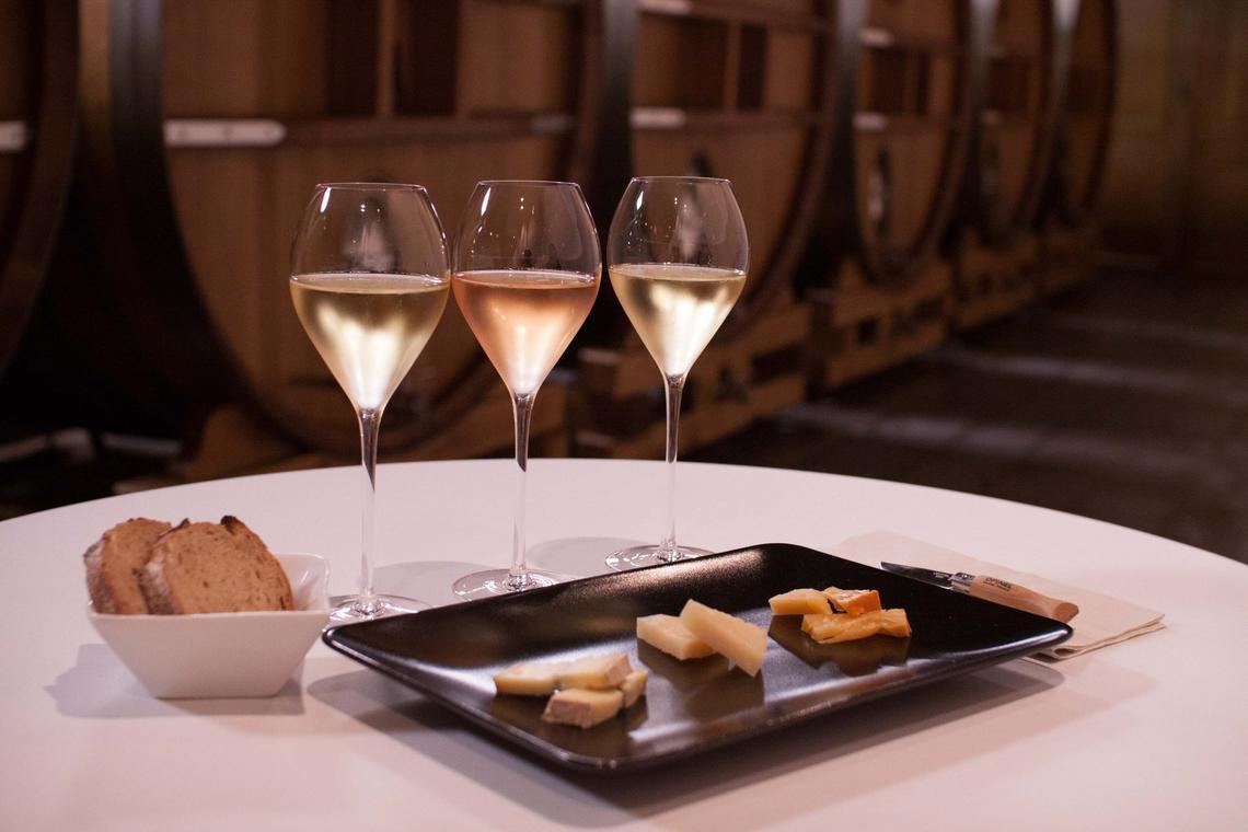 J de Telmont - Champagne et fromages