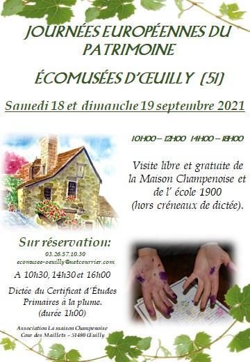 JEP Ecomusée Oeuilly 2021
