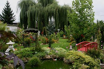 Jardin du temps passé - chez Georgette Evrard - Vouzy