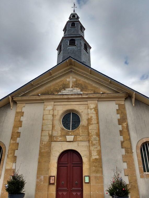 Pouillon, Eglise © Anne-Sophie Lange