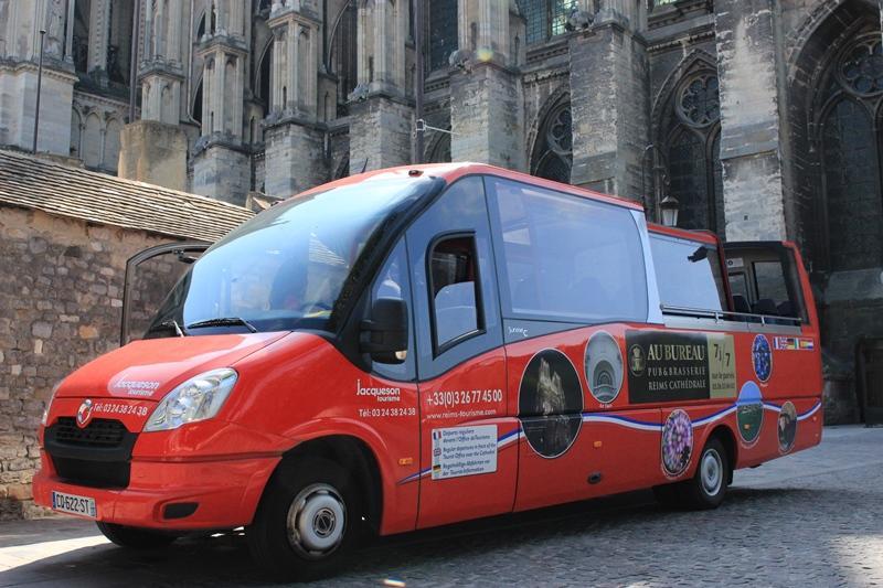 Bus panoramique - Reims